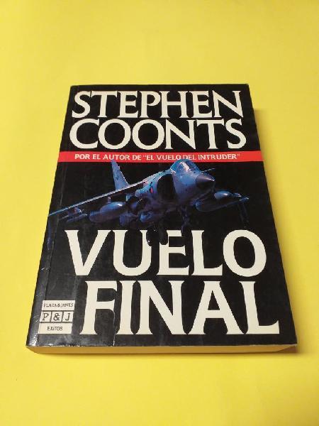 Libro. vuelo final. stephen coonts.