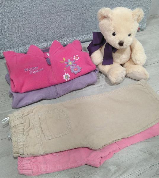 Lote de ropa para niña 2 años