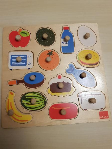 Lote puzzle bebés