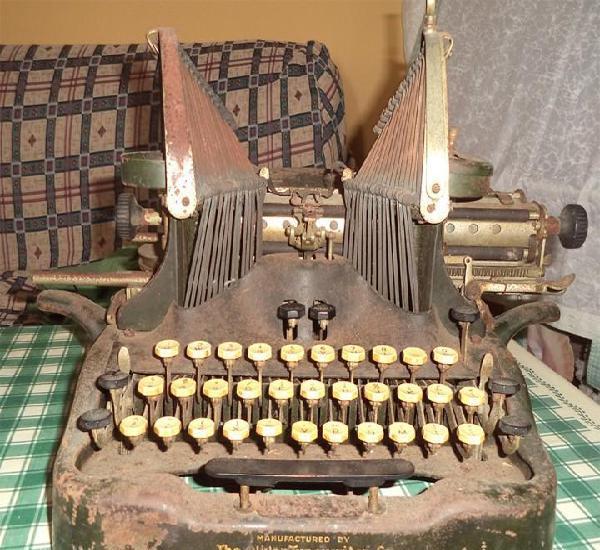 Maquina escribir oliver typewriter n.º 10 chicago 1912 - -
