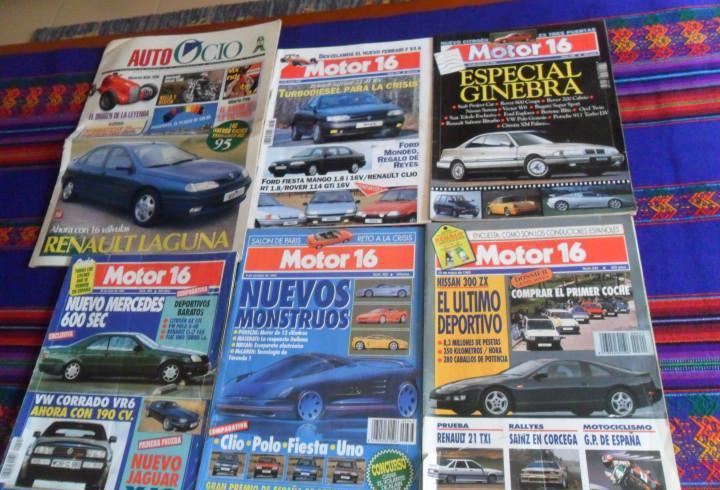 Motor 16 nºs 342 363 404 438 482. 1990. regalo auto ocio