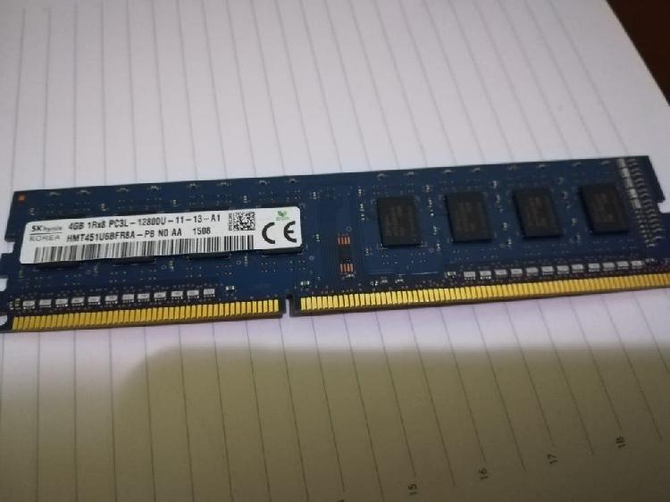 Memoria ram ddr3 1600mhz 4gb