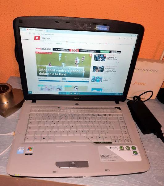 Portatil acer aspire 5315 ,windows 10pr0 x 64 bits