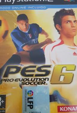 Pro evolution soccer 6 ps2