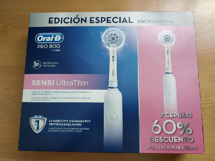 Pack cepillos eléctricos oral b