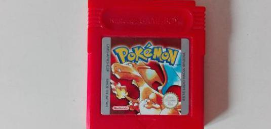 Pokemon rojo, game boy