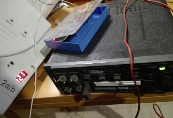 Radio cassette coche ford años 80