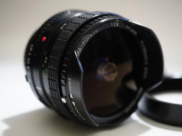Sigma angular 16mm f2.8 para minolta md