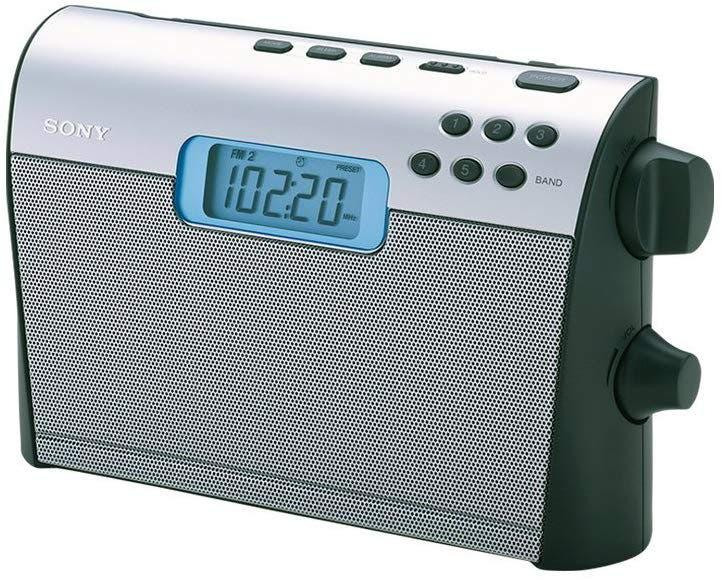 Sony radio portatil alarma pantalla led