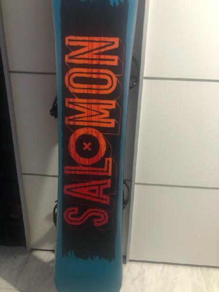 Tabla de snowboard salomon pulse