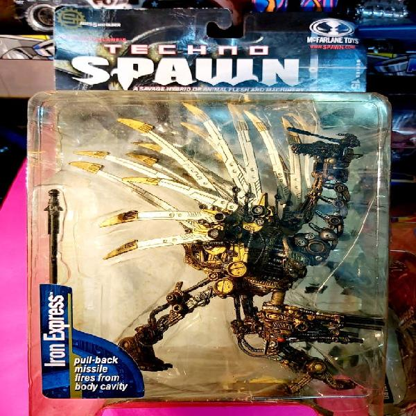 Techno spawn iron express mcfarlane toys
