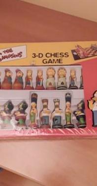The simpsons ajedrez (juego de mesa)