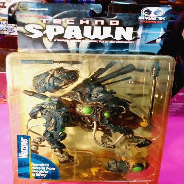 Warzone techno spawn mcfarlane toys nuevo