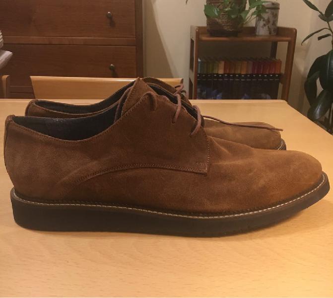 Zapatos de ante marrones de hombre en España 【 REBAJAS