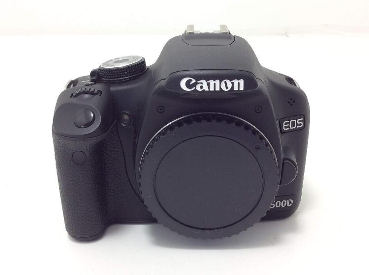 Camara digital reflex canon eos 500d