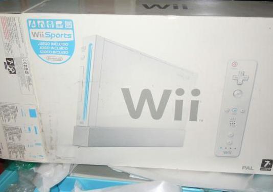 Consola wii con accesorios y juegos