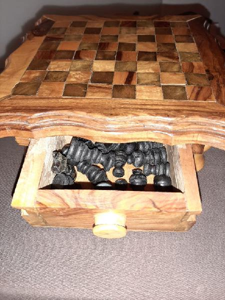 Juego ajedrez madera