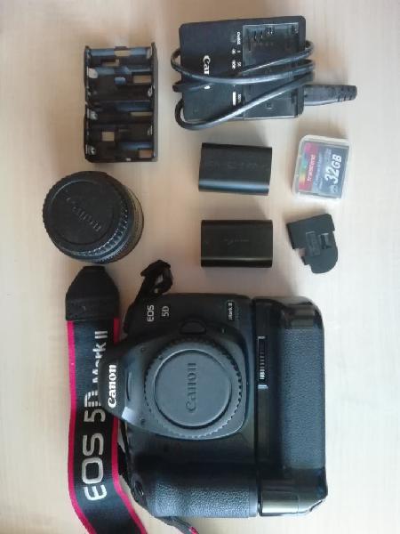 Kit cámara y objetivo canon eos 5d mark ii