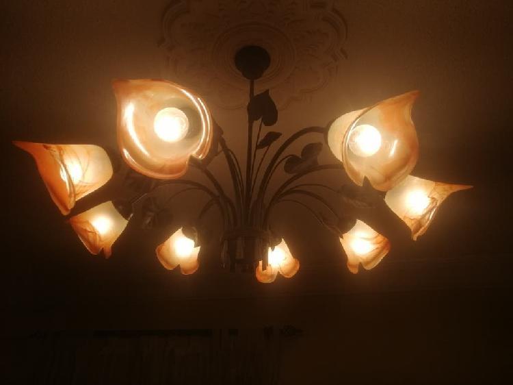 Lámparas tipo forja