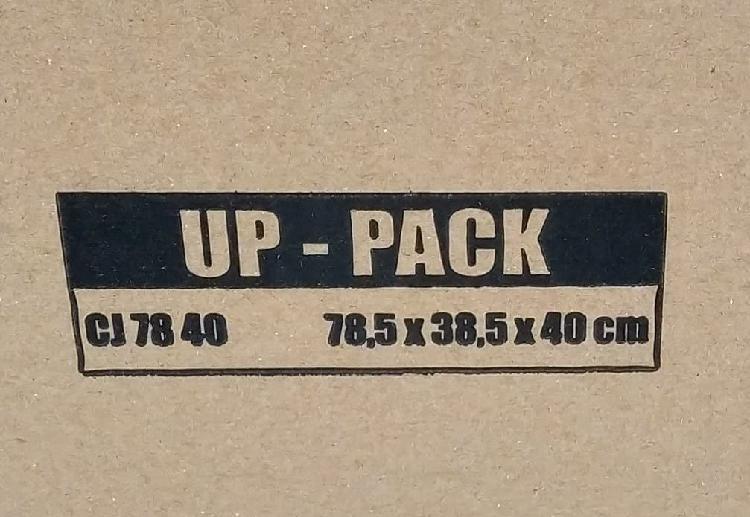 Vendo cajas cartón doble canal