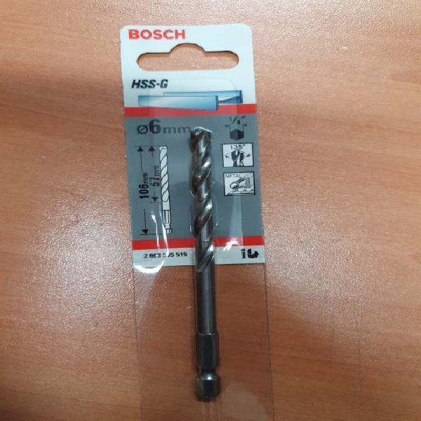 Broca metal 6 mm taladro
