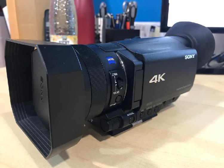 Cámara video sony fdr-ax100 4k