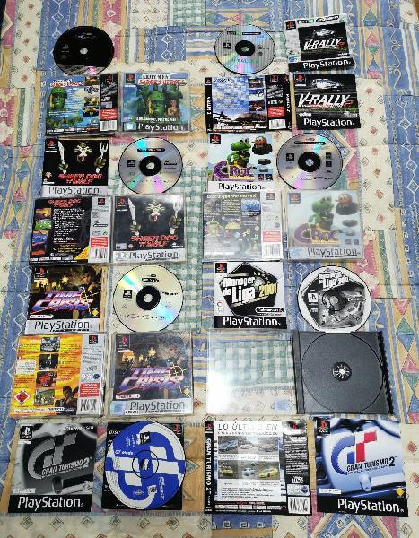 Despiece juegos de playstation1 psx/ps1/psone