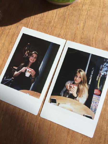 Fotografias polaroid.