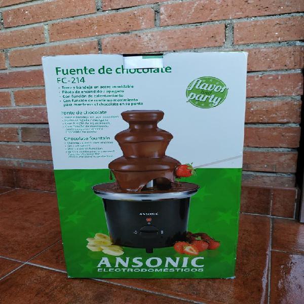 Fuente de chocolate ansonic - ha estrenar