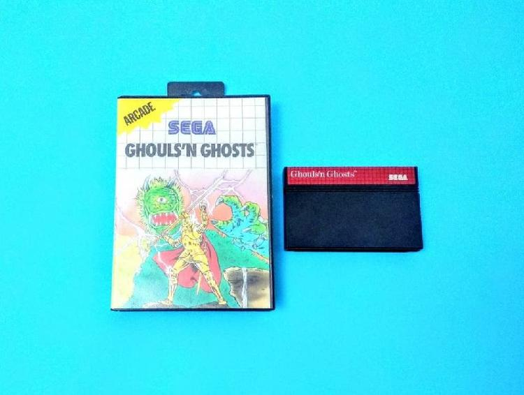 Ghouls'n ghosts / master system