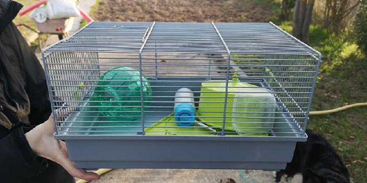 Jaula 2 pisos hamster