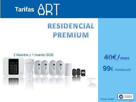 Kit alarma premium residencial con aviso inmediato