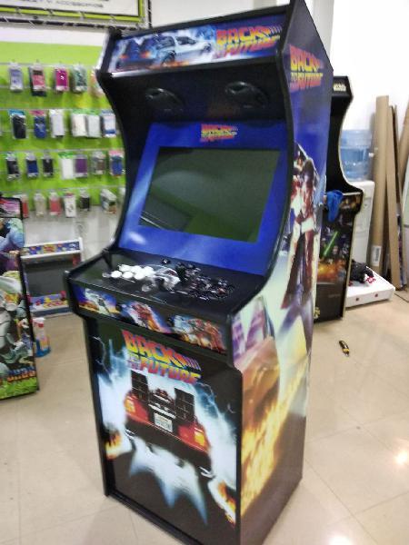 Maquinas arcade regreso al futuro