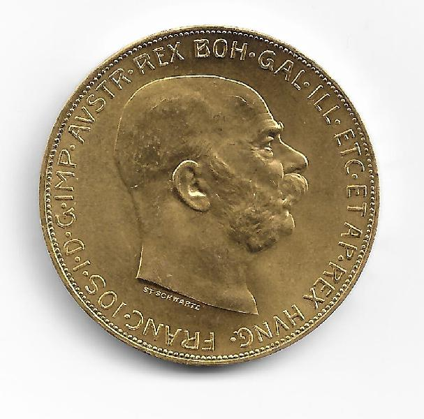 Moneda de oro. 100 koronas suecas 1915. fdc