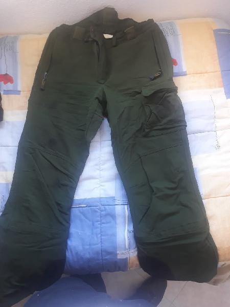 Pantalon altus de alta montaña ejercitotierra kaki