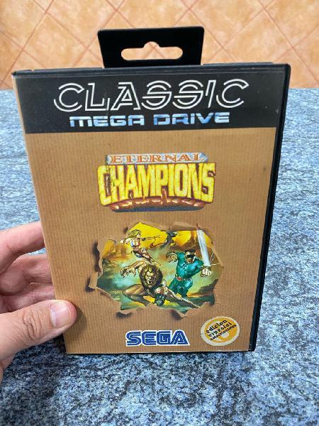 Sega megadrive eternal champions
