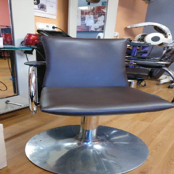 Sillón hidráulico de peluquería
