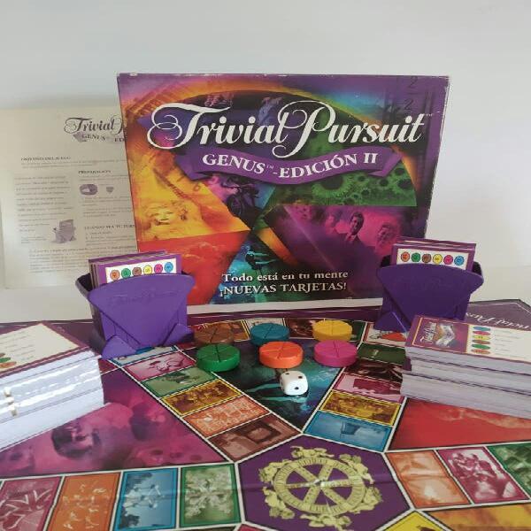 Trivial pursuit edicuon ii genus juego educativo d