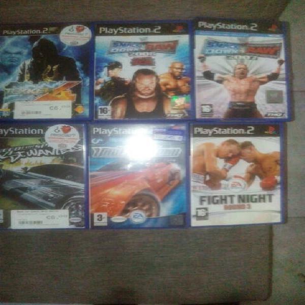 Pack juegos ps2