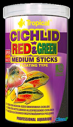 Tropical cichlid rojo & verde m 1000 ml 1 l
