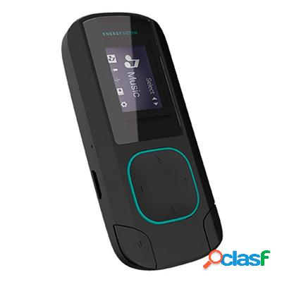 Energy sistem mp3 clip bluetooth 8gb radio menta, original de la marca energy sistem
