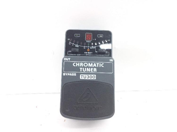 15 % pedal multiefectos de guitarra behringer chromatic