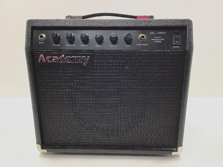 20 % amplificador guitarra academy axl-30wea
