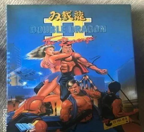 Antiguo juego msx double dragón ii dro soft