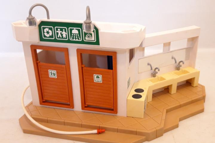 Baños y fregaderos camping playmobil