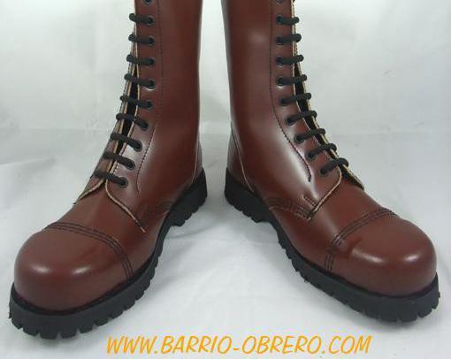 Botas de piel con puntera de hierro (made in portugal)