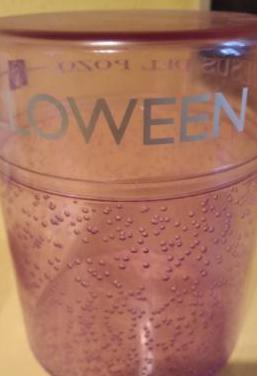 Caja plástico halloween