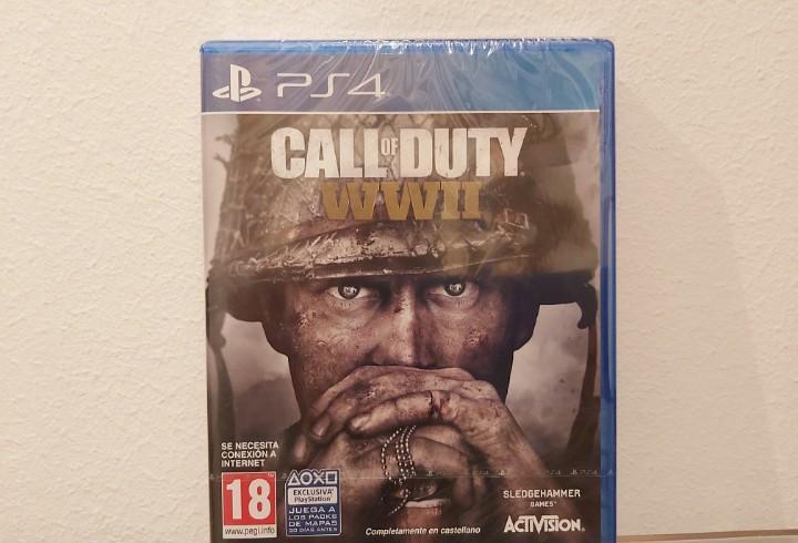 Call of duty wwii (world war 2) - videojuego ps4 a estrenar