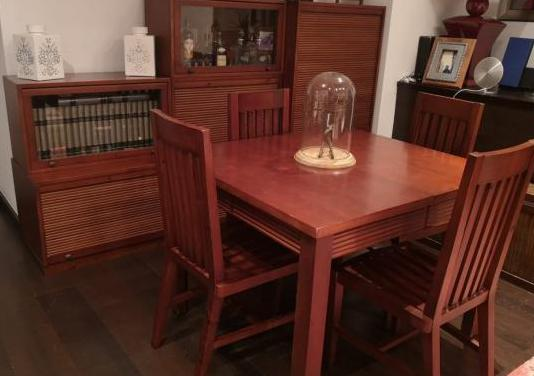 Conjunto muebles salón-comedor
