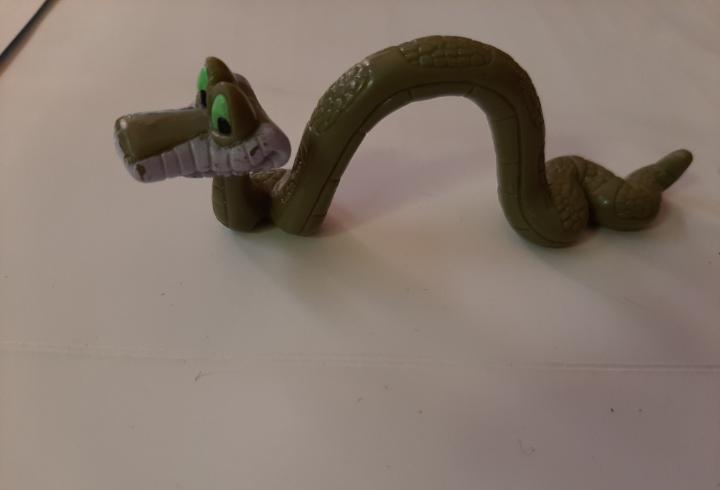 Disney, figura kaa serpiente de el libro de la selva,